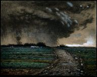 Jean Francois Millet, Coming Storm.  Years ago I saw this painting at the MFA and I swear it made you feel the cool moisture in the air. Incredible piece.
