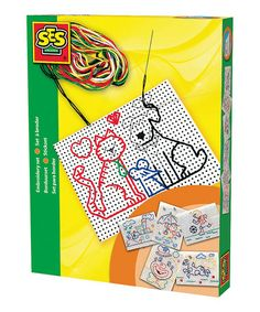 Take a look at this Embroidery Kit by SES Creative on #zulily today! $12!!