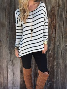 Striped design is an classical style and which can make you looked slimmer,you can wear this one to show your sexy figure,get one you prefer to wear it at your daily life.Get one you prefer. Colors:Wh