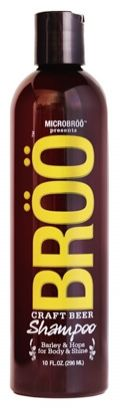 BRÖÖ Shampoo turns the luscious libation into a super-drink for your hair. Made with craft beer, it smells so good you'd almost want to drink it.