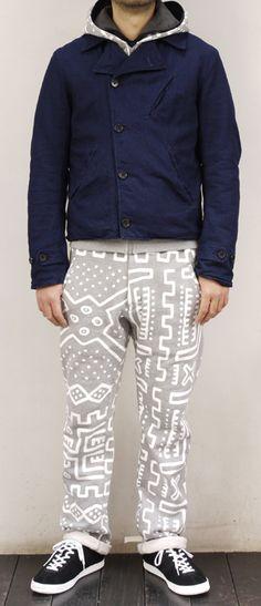 African Print Chino Pants #Menswear