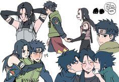 Sarada Uchiha, Sasuke, Naruto Shippuden, Boruto, Narusasu, Sasunaru, Naruto Cute, Anime Naruto, Loki Drawing