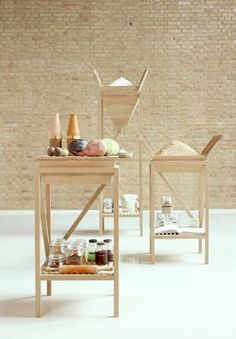 Design Academy Eindhoven Formafantasma - making the prep, cooking and display of food a theatrical centrepiece