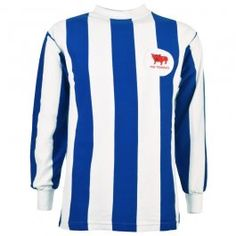 d857146a70a Huddersfield Town 1960s Retro Football Shirt