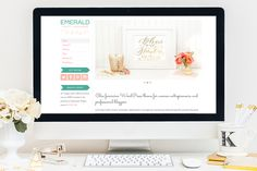 Check out Emerald WordPress Theme by Bluchic on Creative Market