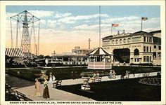Ocean View, Near Norfolk, Va, Showing Casino and Leap The Dips Original Vintage Postcard CardCow Vintage Postcards http://www.amazon.com/dp/B00RETZA96/ref=cm_sw_r_pi_dp_5mV2wb0N875H9