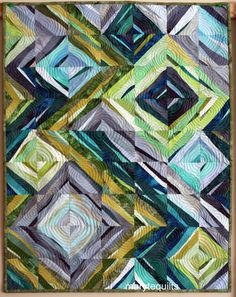 Art quilt, wall hanging, abstract quilt. Depicts water at The Great Coral Reef, inspired by the picture taken there. Water at the reef doesnt flow
