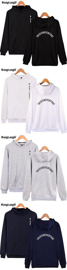 Wangcangli New2017 Bangtan Kpop sweatshirt Men hoodies korean BTS Hip Hop Winter black harajuku hoodies Men Popular Fans Clothes
