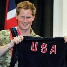 Prince Harry's Visits to the United States Pictures