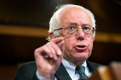 FILE - In this May 6, 2015, file photo, Democratic presidential candidate Sen. Bernie Sanders, I-Vt., speaks during a news conference on Capitol Hill in Washington.