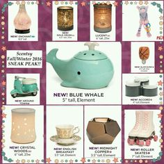 NEW Scentsy product's launching fall 2016. Take a sneak peek. Great holiday shopping ideas. Shipping available to Canada, USA & Mexico. What is your new favourite? https://janismajor.scentsy.ca #scentsycampbellriver #scentsyonlineshopping #scentsyjanismajor