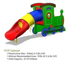 Green Play Imagination Caboost