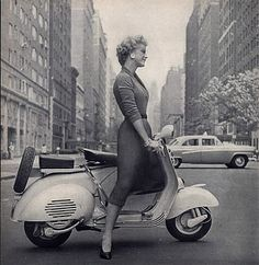 Scooter gal, 1956