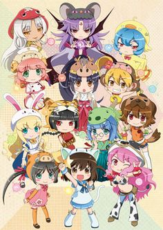 Etotama (Chinese Zodiac Souls) 12 animals + 1 cat new show in April