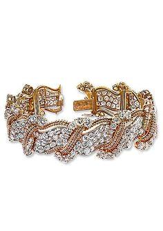 Jessica Chastain's Harry Winston bracelet from the 2013 Oscars.
