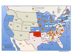 War Between The States Civil Wars Homeschool And History - Map Of The Us In The Civil War