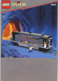 LEGO 4547 Club Car instructions displayed page by page to help you build this amazing LEGO Trains set Lego Christmas Train, Classic Lego, Lego Club, Lego Ship, Lego Trains, Lego Group, Lego Projects, Lego Instructions, Train Set