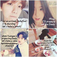 Taeyeon and baekhyun dating news on yahoo