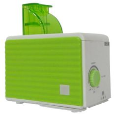 SPT SU-1053G Personal Humidifier, Green/White by SPT. $36.27. Adjustable mist, Water low indicator. Cool mist (ultrasonic technology), 120cc/hour humidity output. Quiet operation, Low power consumption. UL approved AC adapter. Uses water bottle instead of water tank, 3 bottle adapters included. SPT Personal Humidifier (green/white)is compact and lightweight, this personal humidifier offers portability that is perfect for travel use. Small enough to easily fit ...