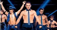 """#Hollywood star Channing Tatum shows off his hot body in the first poster for """"Magic Mike XXL""""."""