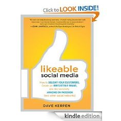 I enjoyed reading this book about Social Media strategies & tactics for engage and delight your customers.