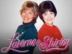 """Penny Marshall and Cindy Williams star in the very funny TV show """"Laverne & Shirley"""". 80 Tv Shows, Old Shows, Great Tv Shows, Movies And Tv Shows, Cindy Williams, Laverne & Shirley, Mekka, This Is Your Life, Old Tv"""