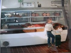 30 years ago remodel. Our first 2 kiddos were so little!