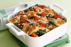 Spinach, potato and squash bake - Tesco Real Food