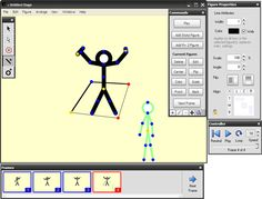 3 stick figure animation programs