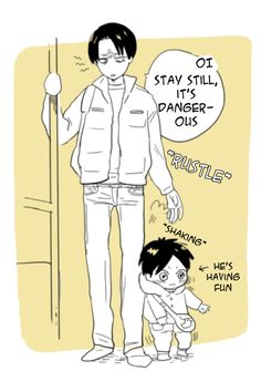 ~ Snk ~ :: Baby Eren and Levi ... Part 1 ...