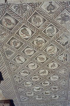 Early Christian Mosaic, Delphi