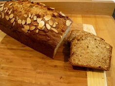My Mothers Apron Strings: Brown Butter Banana~Almond Tea Bread...and Mays Give-Away Apron
