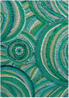I don't know if I have featured very many mosaics here in the past - maybe a few really old ones - but these are new. Maybe they could insp...