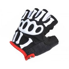 Cycling clothing Cycling clothing  Half Finger Gloves-Skeleton