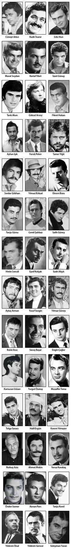 Turkish cinema actors from Hair Color For Brown Skin, Winter Teacher Outfits, Cinema Movies, Star Wars, Mans World, Historical Pictures, Color Photography, Music Artists, Old Photos