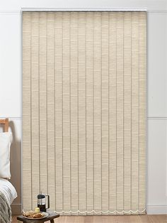 Esteem Oatmeal Vertical Blind from Blinds 2go