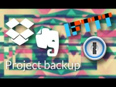 Project backup using Evernote, IFTTT, Dropbox & 1Password