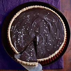 For true chocoholics - simple yet insanely delicious. Don't forget the salt!    Good Housekeeping