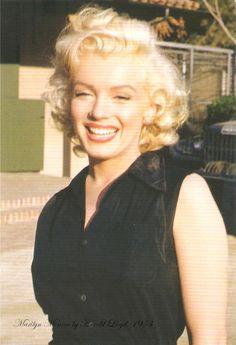 Marilyn Monroe, 1953, by Harold Lloyd