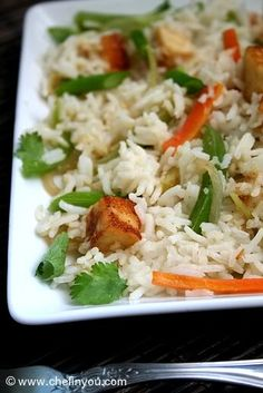 Paneer Fried Rice Recipe | Indo Chinese Recipes