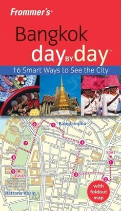 Frommer's Bangkok Day by Day (Frommer's Day by Day - Pocket) by Colin Hinshelwood.   In Now @ Canterbury Tales Bookshop / Book exchange / Cafe, Pattaya....