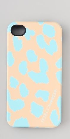 Nice n subtle. a gorgeous iPhone case by Rebecca Minkoff