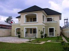 Residential Building Construction Project Inspiration 8 - Design and Construction Services in Trinidad - The Building Source 2 Storey House Design, Duplex House Design, Two Storey House, Small House Design, Classic House Exterior, Dream House Exterior, Jamaica House, Architectural House Plans, Spanish Style Homes