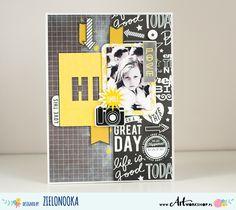 Zielonooka: black and white and yellow