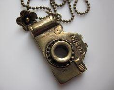 Nikon camera necklace
