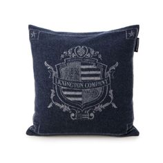 Lexington Navy Blue Authentic Sham / Cushion Cover