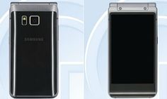 Hello, it's me. On a flip-phone. Samsung unveils clamshell model