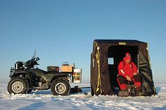 An article from Game & Fish that gives tips and tactics on what baits to use when you're ice fishing for perch.