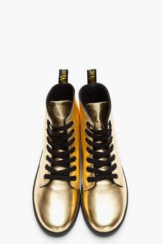 DR. MARTENS / Gold Errrythang
