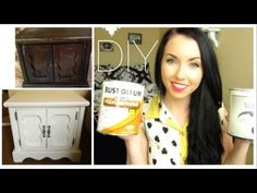 Awesome Diy: How to Repaint your Home furniture With no Sanding! | thataylaa